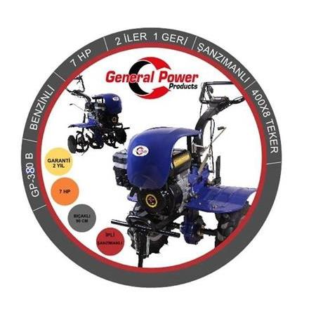 General Power GP 380B  Çapa Makinesi 7 Hp